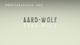 How to Pronounce AARD-WOLF
