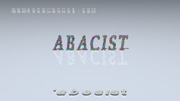 How to Pronounce ABACIST